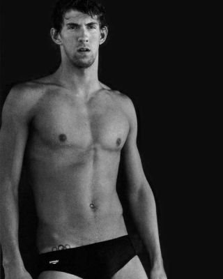 michael phelps sexy swimmer body